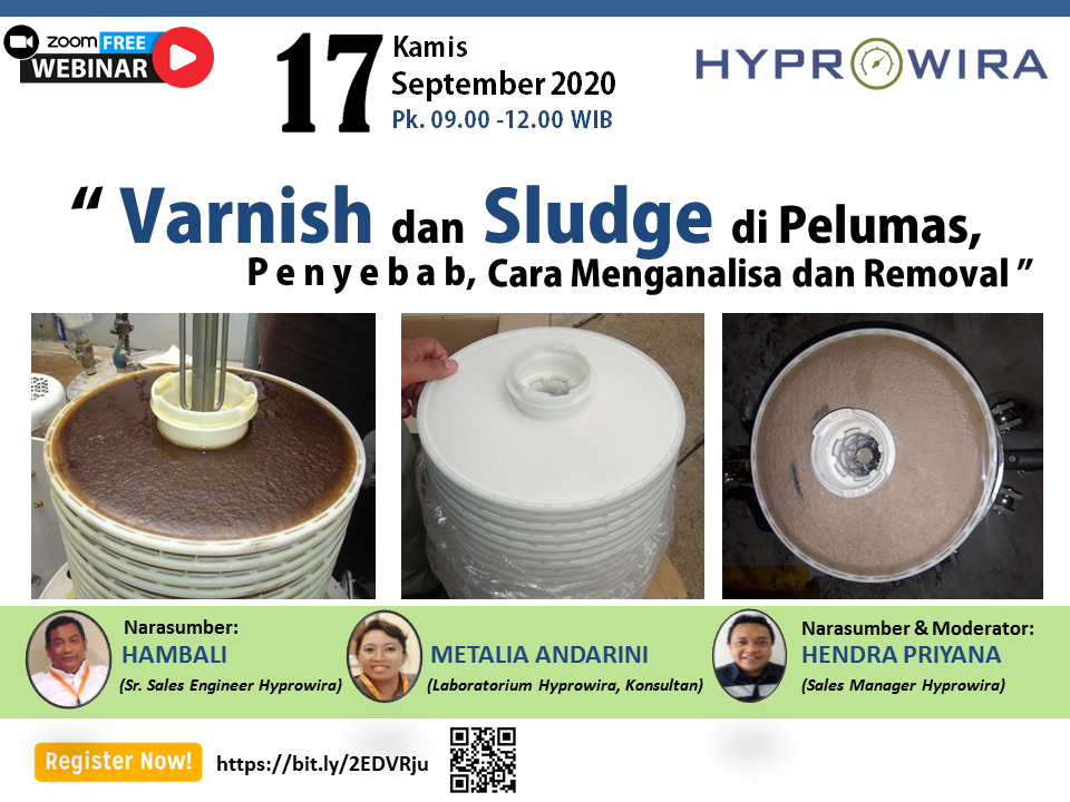 Free Webinar Varnish and Sludge di Pelumas